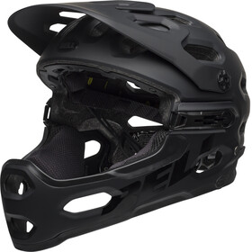 Bell Super 3R MIPS Casque, matte black/gray